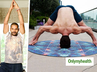 Shikhar Dhawan, Virat Kohli, all Swear by Yoga for Endurance. Here's how Yoga and <strong>Cricket</strong> Go Hand-In-Hand