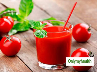 Unsalted tomato juice can help you <strong>lower</strong> <strong>your</strong> blood pressure and cholesterol