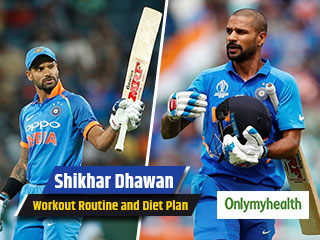 ICC World Cup 2019: Shikhar <strong>Dhawan</strong> fitness regimen and diet plan