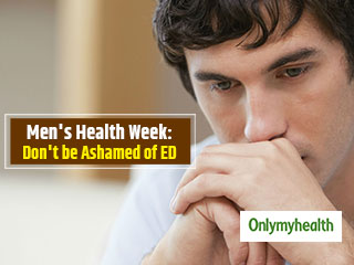 Men's Health Week <strong>2019</strong>: Don't be Ashamed of Erectile Dysfunction. Timely Treatment is Necessary