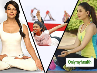 Here's How Bollywood Celebrities are Celebrating Yoga <strong>Day</strong>
