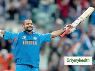 ICC World Cup 2019: Despite Injury, Opener Shikhar <strong>Dhawan</strong> Hits the Gym to Get Back to Fitness. Some Exercises That Can Be Done With A Broken Thumb