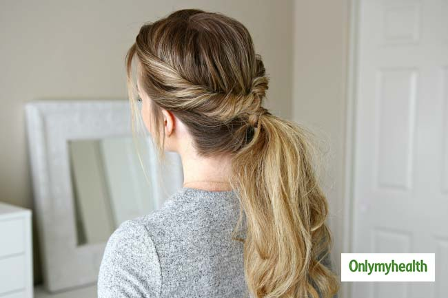 Experiment with your ponytail