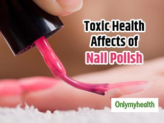 Here is how <strong>nail</strong> <strong>polish</strong> can affect your health