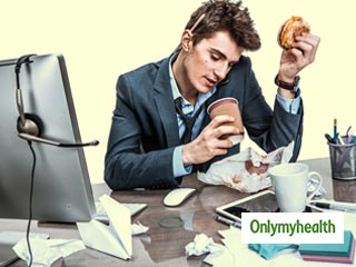 Replace junk <strong>food</strong> with fast <strong>food</strong> at the workplace: Study