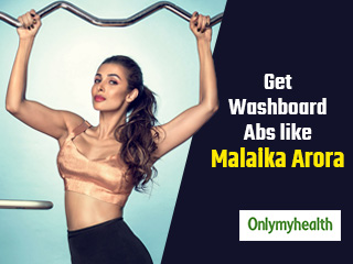 Here is The <strong>Secret</strong> to Malaika Arora's Toned Washboard Abs