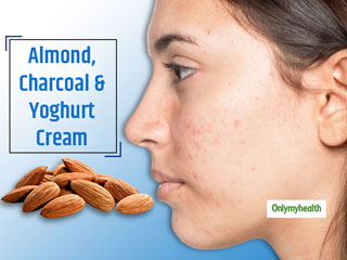 Almond Charcoal Cream Benefits: 2 Minute DIY Trick To Remove <strong>Acne</strong>, Pimple Marks
