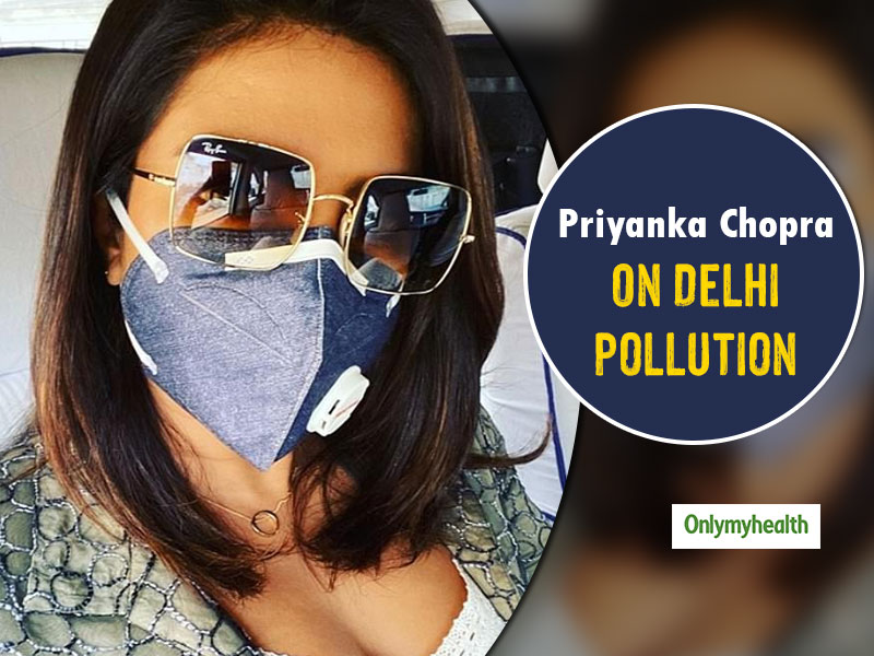 Priyanka Chopra Said This About Air Purifiers And Masks On Delhi's Pollution