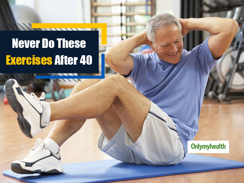 Are You 40 and Go To The Gym? These 5 Exercises Are Dangerous For You, Stop Doing Them
