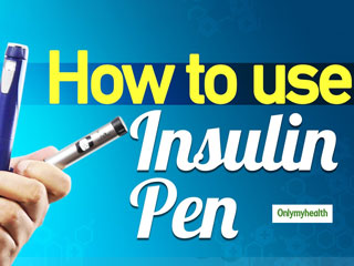 <strong>Diabetes</strong> Tips: Here's How You Can Use An Insulin Pen