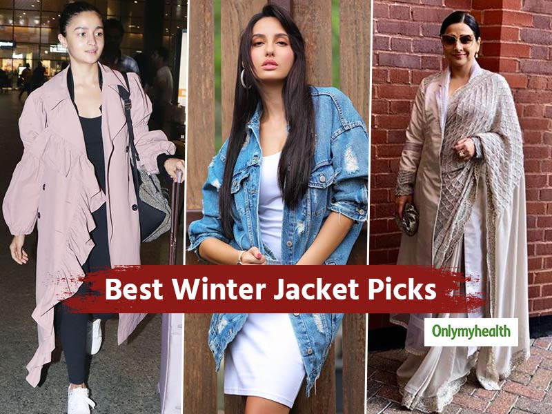 Shopping For Winter Jackets? Take Cues From Bollywood Actresses For The Best Pick
