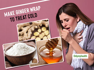 Treat Sore Throat Overnight With This DIY Ginger Wrap