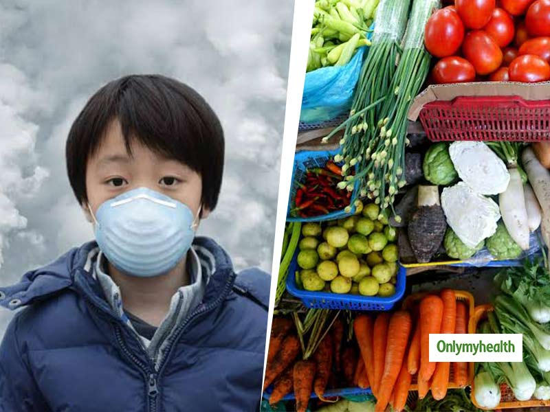 5 Food Choices to Minimize the Impact of Air Pollution on Children