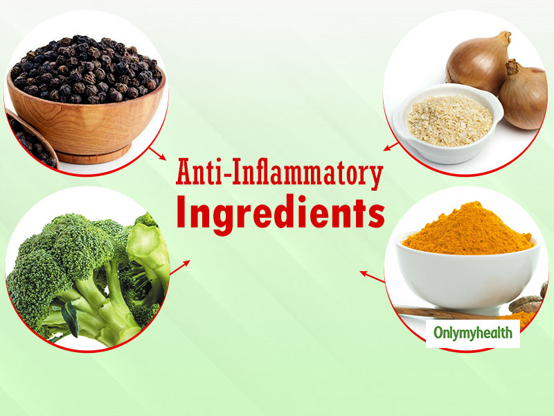 5 Anti-Inflammatory Ingredients To Enhance The Meal's Anti-Inflammatory Effects