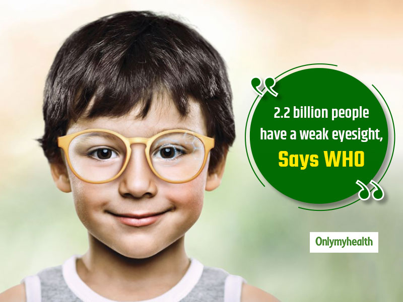 World Sight Day 2019: Staying Indoors Increases Chances of Myopia In Children, Says WHO Report