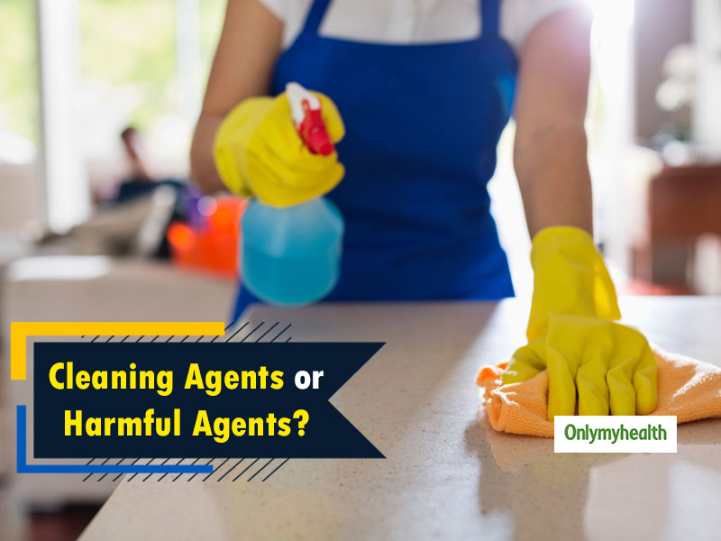 Bleaching Agents Used For Cleaning Toilets And Kitchen Can Lead To Many Diseases