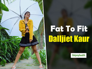 Bigg Boss 13 Contestant Dalljiet Kaur Lost 30 Kilos Post Pregnancy. Here's How She Shed The Extra Weight With Exercise And Diet