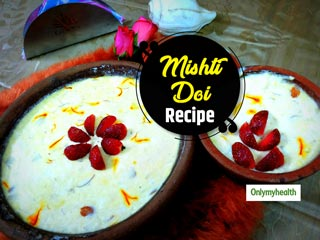 <strong>Bengali</strong> Sweet Recipe: Beat The Monday Blues With This Healthy Mishti Doi