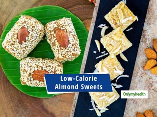 Festive Special Recipes: Make These Low-Calorie Almond Sweets For <strong>Diwali</strong> Treats