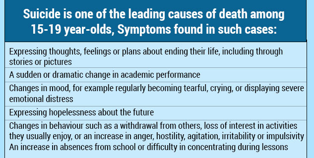 suicidal symptoms