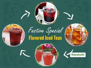 Diwali Special Recipes: Bid Adieu To Summer and Welcome Winter With Flavored Iced Teas