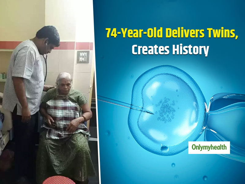 74-Year-Old Woman From Guntur Delivers Twins Through IVF, Sets A World Record