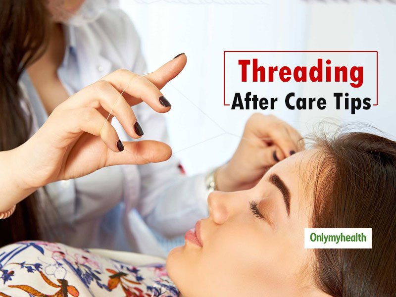 Ease The Post Eyebrow Threading Pain & Skin Problems With These Home Remedies