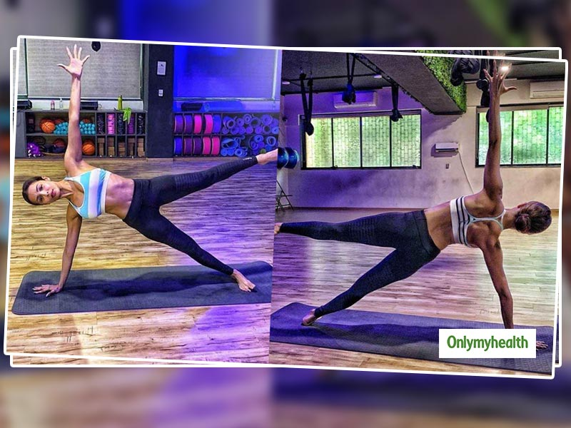 Malaika Arora's Latest Instagram Post Sets A New Fitness Benchmark. She Says 'Come On, Let's Plank'