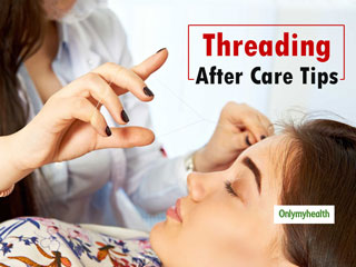 Ease The <strong>Post</strong> Eyebrow Threading Pain & Skin Problems With These Home Remedies