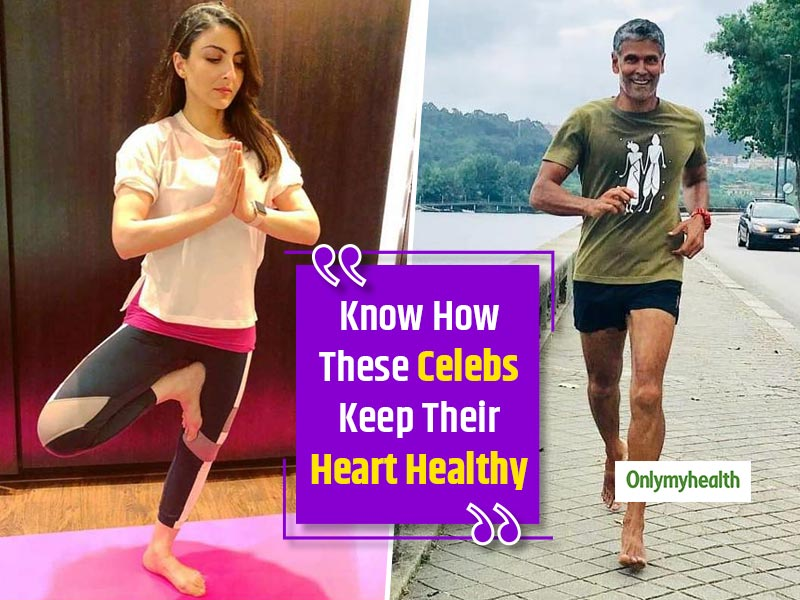 World Heart Day 2019: Soha Ali Khan And Milind Soman Share Secrets For A Healthy Heart