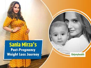 This Is How <strong>Tennis</strong> Champion <strong>Sania</strong> <strong>Mirza</strong> Lost 26 Kg After Pregnancy. Know Her Weight Loss Secret