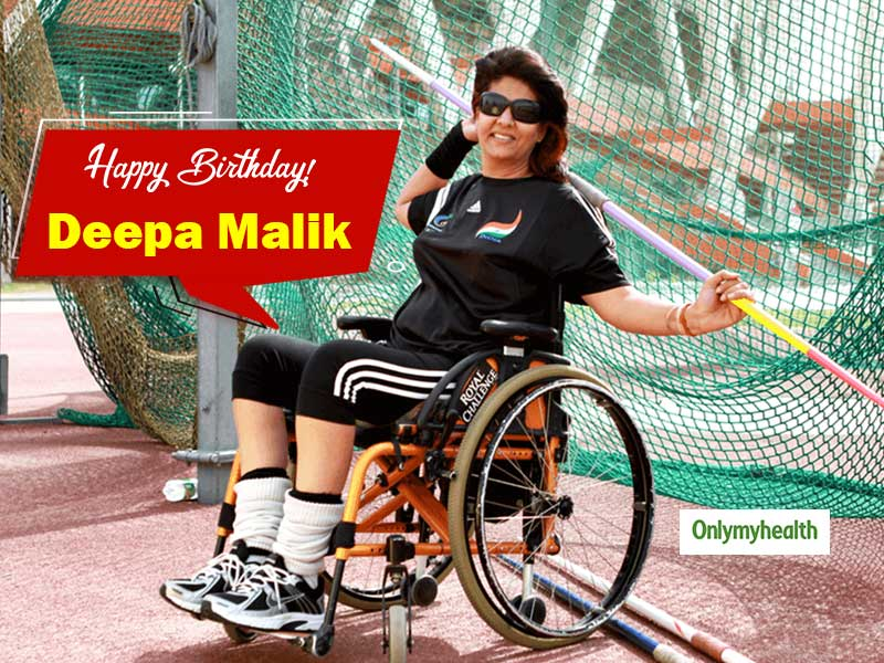 Happy Birthday Deepa Malik: From Paralysis To A Paralympian, This Makes Her A Woman Of Substance