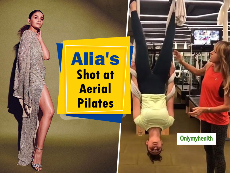 Nail Aerial Pilates Like A Pro, Just Like Alia Bhatt Did. Know-How To Stay In Shape With Aerial Pilates