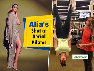 Nail Aerial <strong>Pilates</strong> Like A Pro, Just Like Alia Bhatt Did. Know-How To Stay In Shape With Aerial <strong>Pilates</strong>