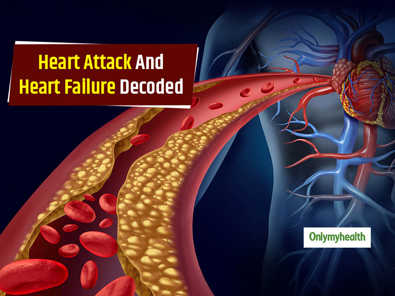 Heart Health: Know The Difference Between Heart Attack And Heart Failure