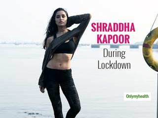 Watch Shraddha Kapoor's Fitness Routine During Lockdown: Pull-Off These Exercises Like A Pro
