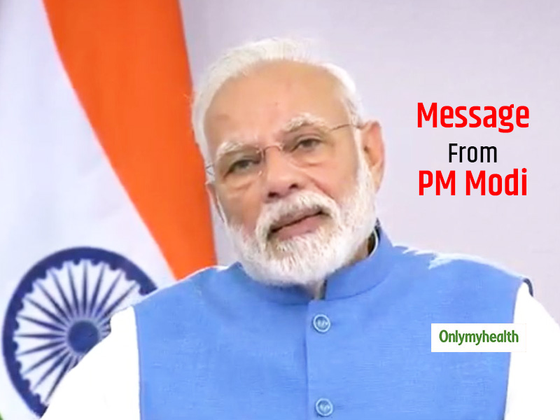 PM Modi's video message to the nation - 9 minutes at 9:00 p.m.