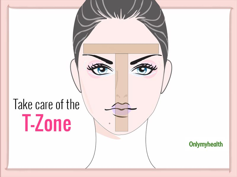 Skin Care Tips For The T-Zone Of Your Face