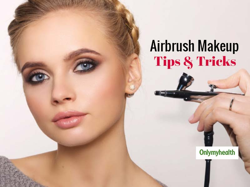 Without Going To The Parlour, You Can Do Airbrush Makeup At Home