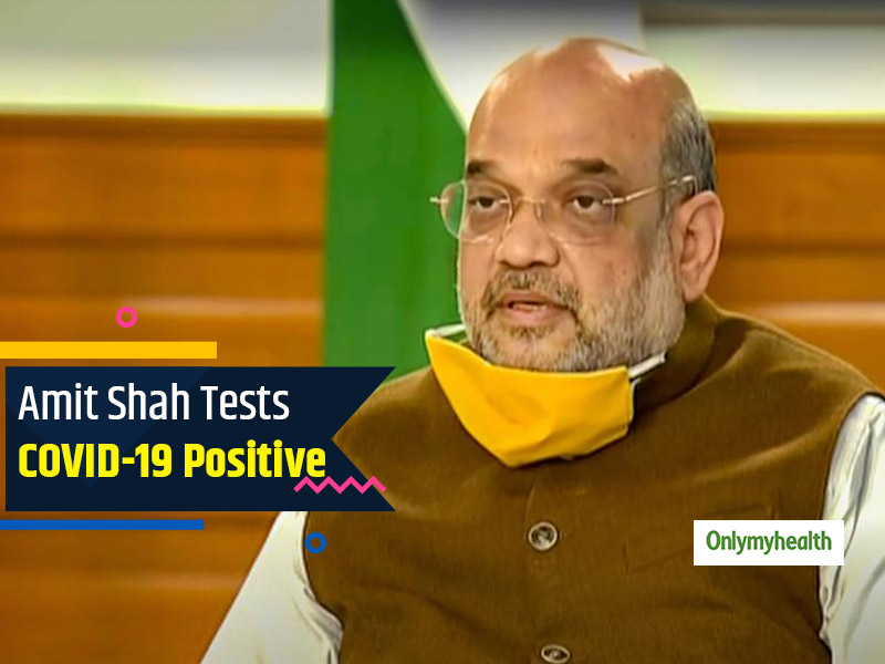 Breaking: Home Minister Amit Shah Tests Positive For COVID-19