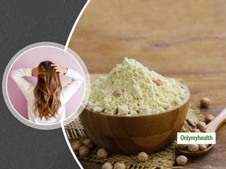 Besan Or Gram Flour Benefits: How To <strong>Use</strong> It For Thick Hair Growth?