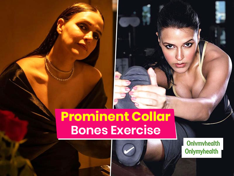 Neha Dhupia Fitness Routine: How To Get Well-Defined Collar Bones?