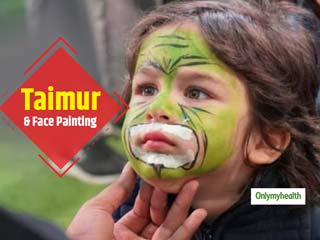 Taimur's Painted Face Is Adorable But Beware, Face Painting Can Take A Toll On Your Kid's Skin