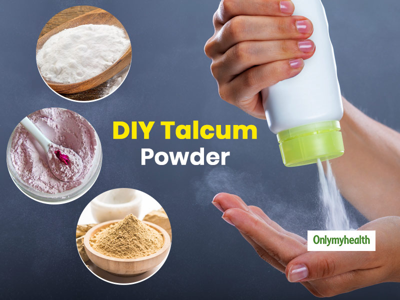 Chemical-Free Homemade Talcum Powder To Control Body Odour