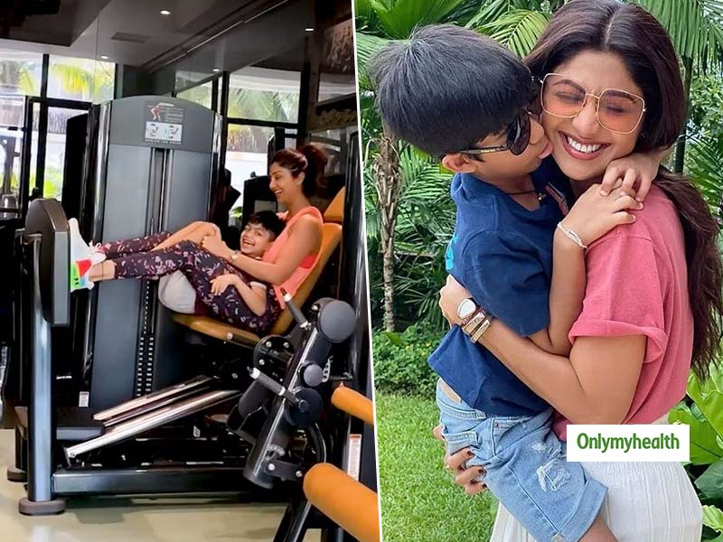 Shilpa Shetty's Gym Workout Video: Get Inspired By This Cute Mother-Son Duo