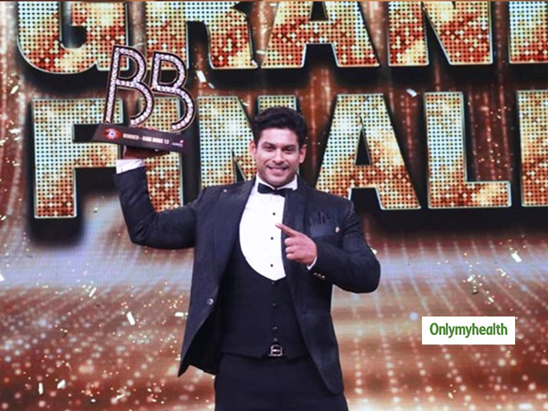 After 140 Days Of Confinement, Angry Man Sidharth Shukla Lifts The Bigg Boss 13 Trophy