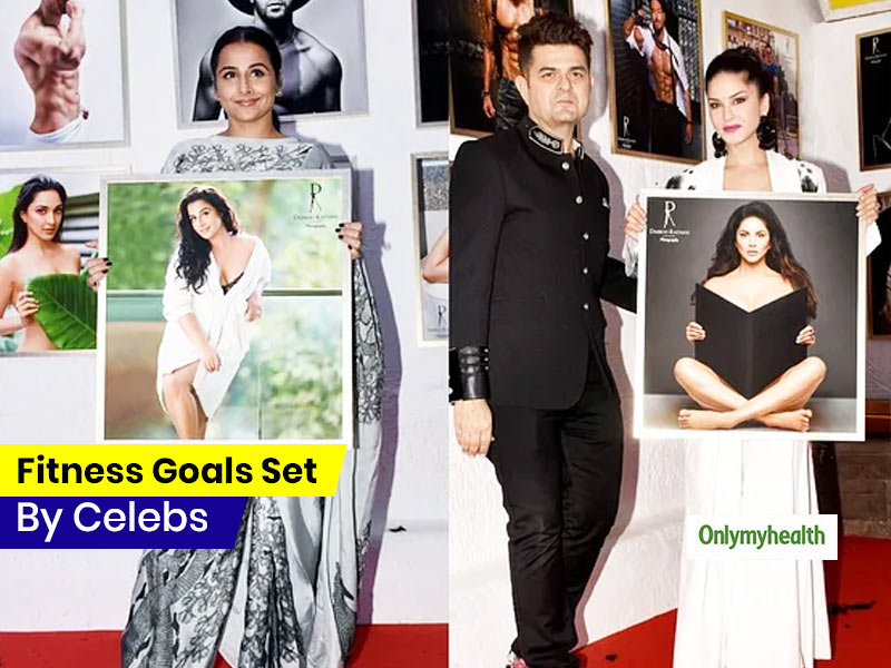 Take A Look At The Fitness Goals Set By Your Favourite Celebs In The 2020 Calendar By Dabboo Ratnani