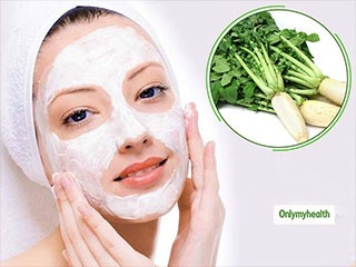 Get Rid Of All Your <strong>Skin</strong> Problems With Radish Face Pack