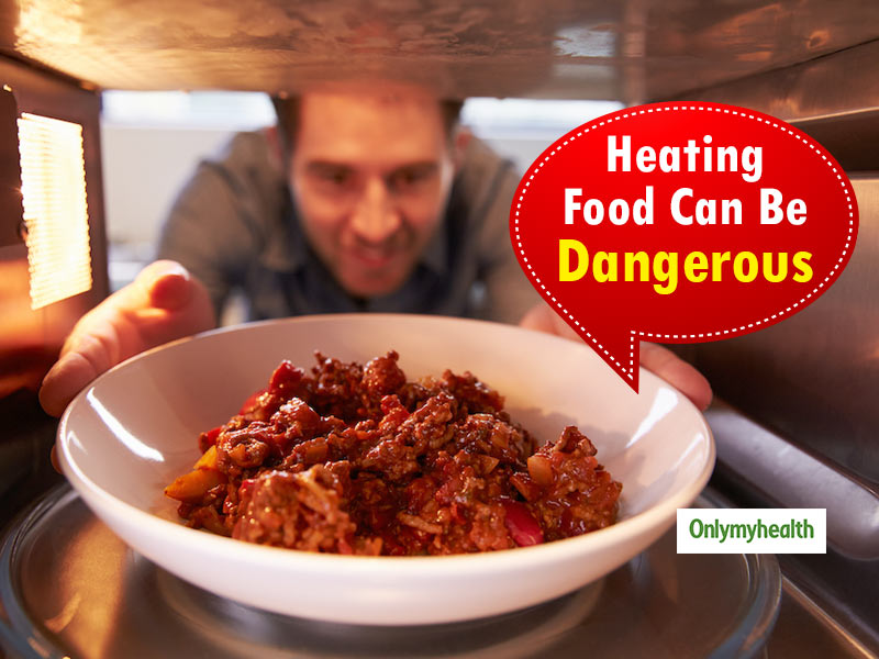 Re-Heating Food Could Be The Reason Behind Food Poisoning