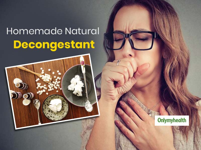 DIY Decongestant To Ward Off Cold, Cough and Chest Congestion In Minutes!